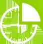 White cycle icon