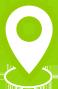 White location pin icon